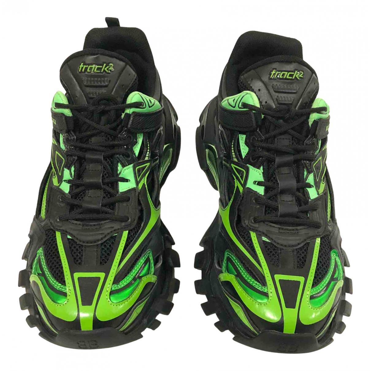 Balenciaga Track Sneakers in  Gruen Polyester