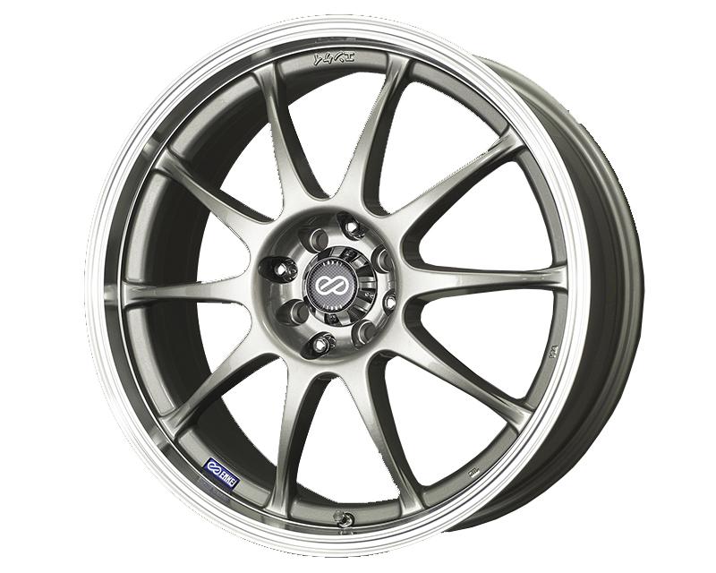 Enkei J10 Wheel Performance Series Silver 17x7 4x100/108 42mm