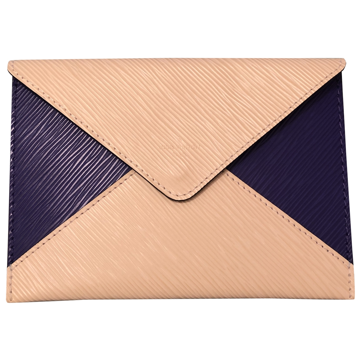 Louis Vuitton - Pochette   pour femme en cuir - beige