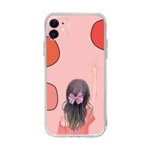 Girl Print iPhone Case