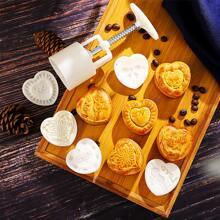 6 piezas set de molde de pastel de luna