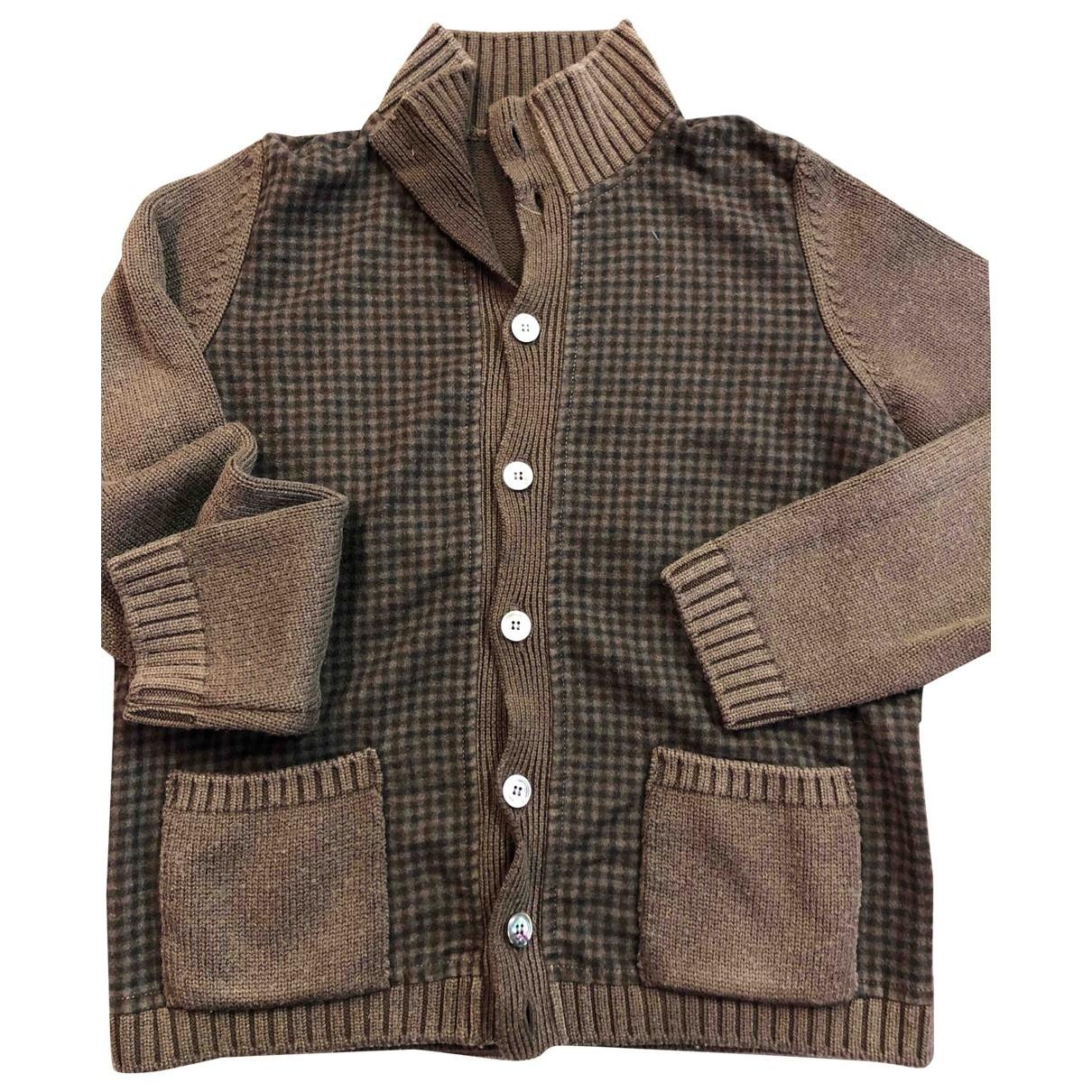 Boglioli - Pulls.Gilets.Sweats   pour homme en laine - marron