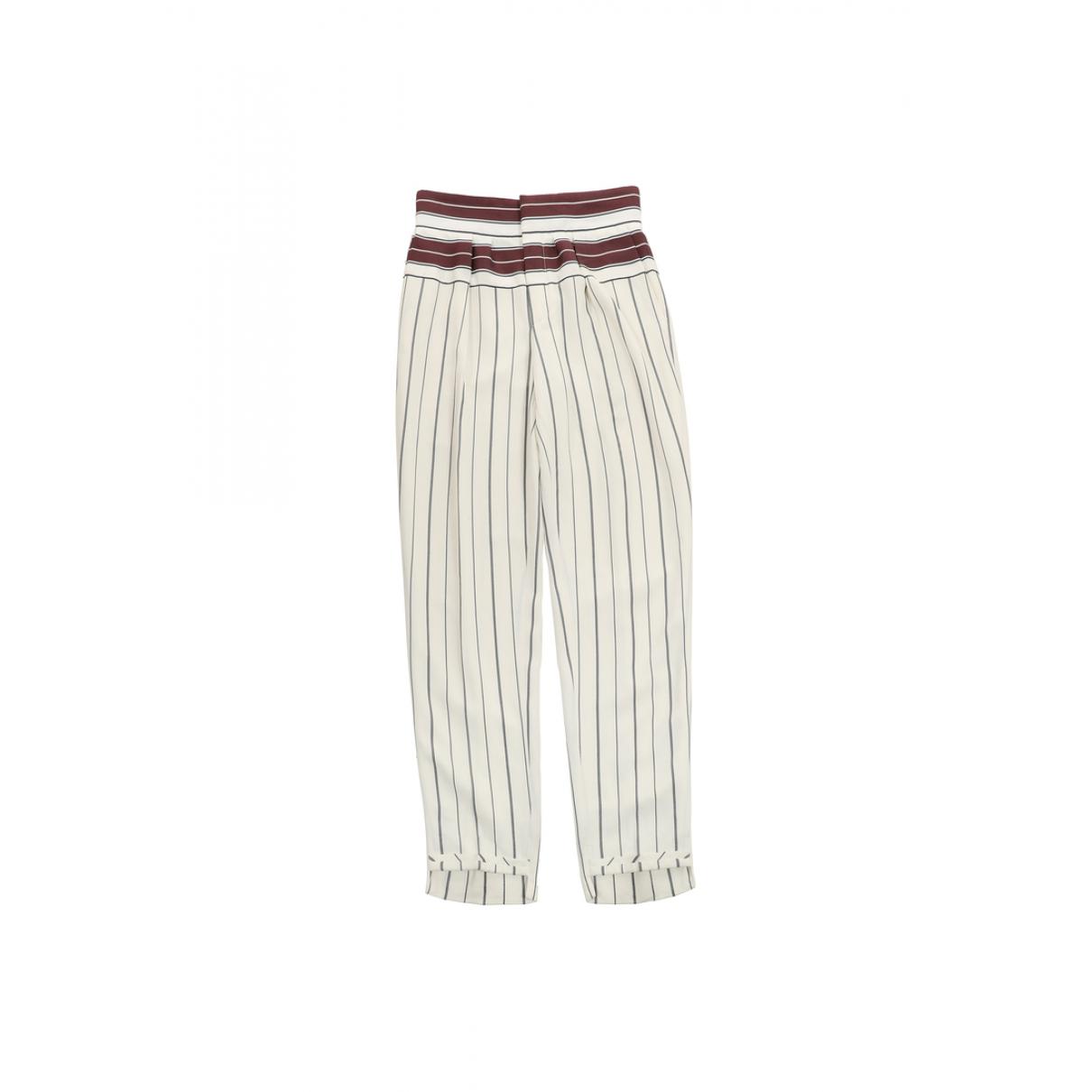 Chloé N Multicolour Trousers for Women 34 FR