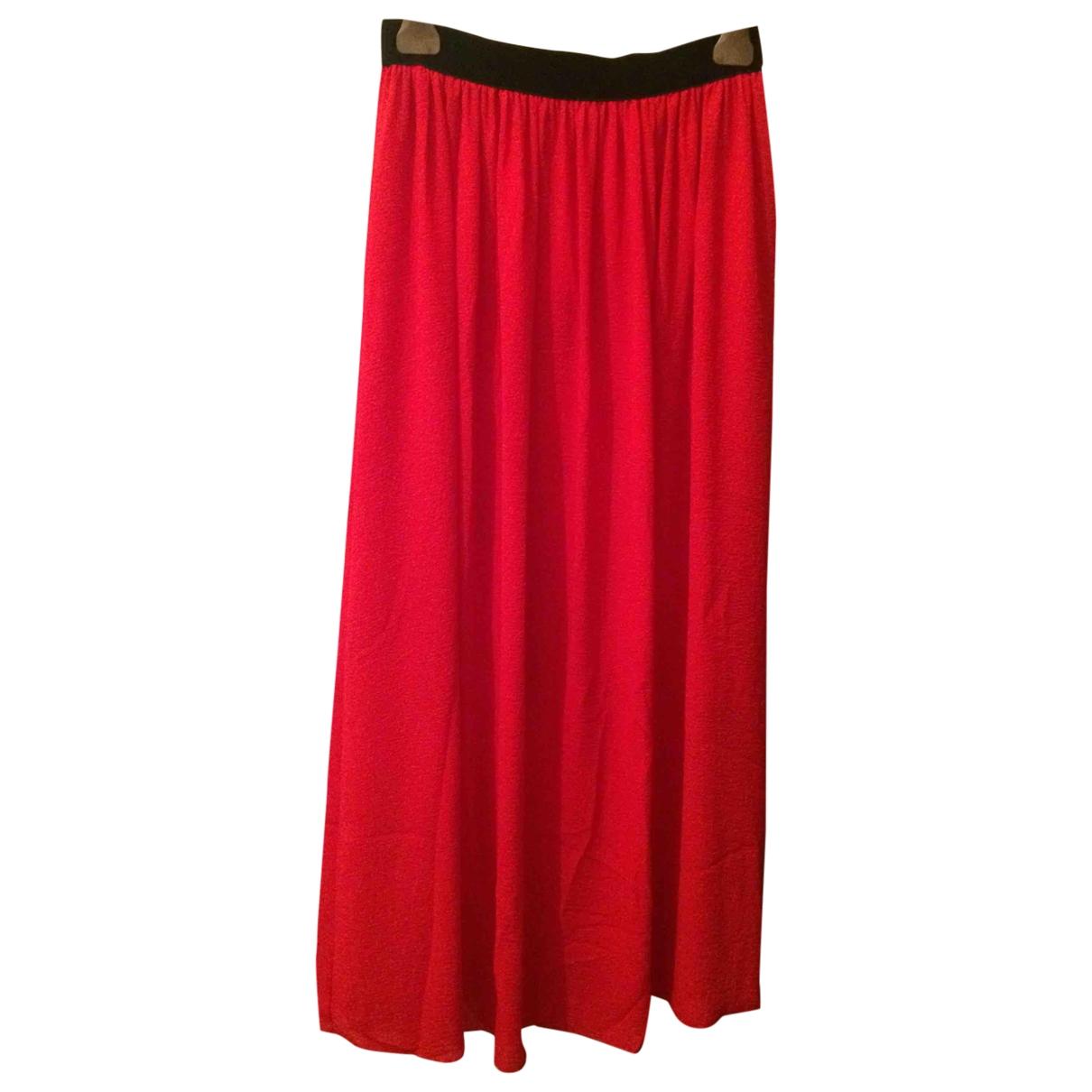 - Jupe   pour femme - rouge