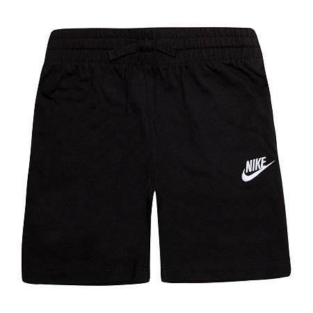 Nike Little & Big Boys Pull-On Short, 4 , Black