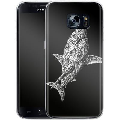 Samsung Galaxy S7 Silikon Handyhuelle - Great White von BIOWORKZ