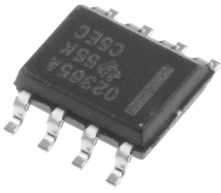 Texas Instruments OPA2365AID , Op Amp, RRIO, 50MHz, 3 V, 5 V, 8-Pin SOIC (5)