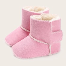 Baby Girl Velcro Strap Ankle Boots