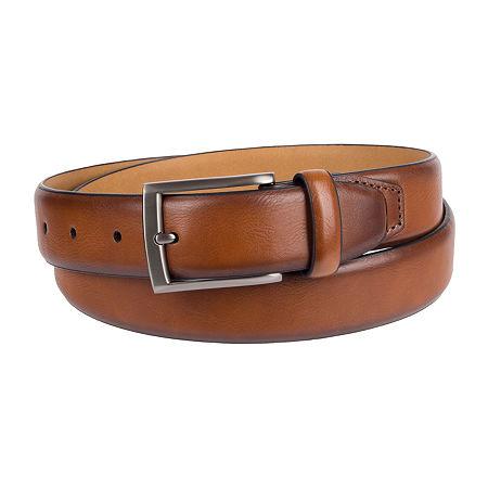 Stafford Men's Casual Stretch Belt, X-large , Beige