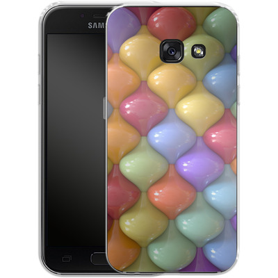 Samsung Galaxy A3 (2017) Silikon Handyhuelle - Oval Pattern von Danny Ivan