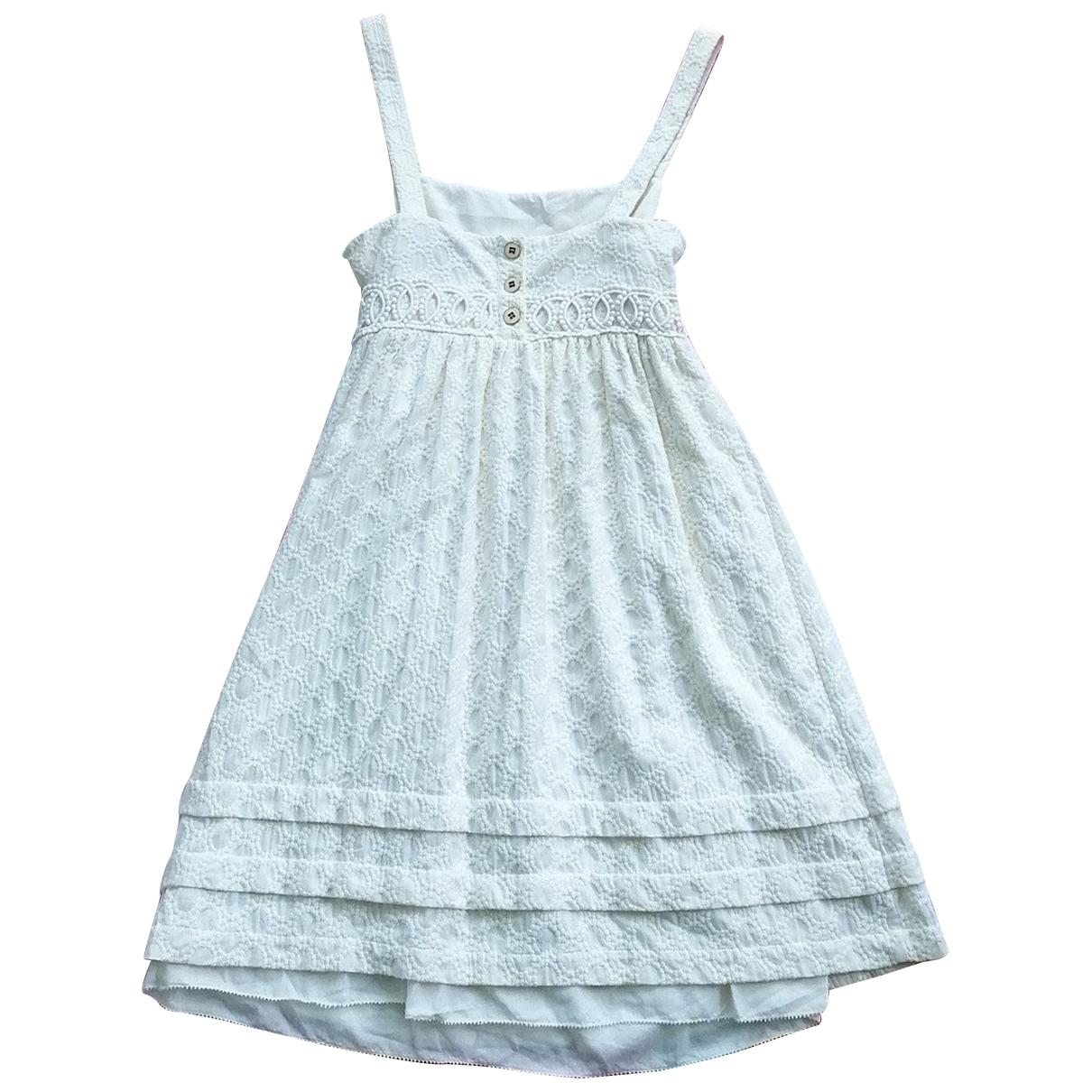 Juicy Couture \N Kleid in  Weiss Baumwolle