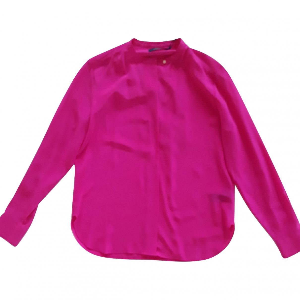 Polo Ralph Lauren \N Pink Silk  top for Women L International