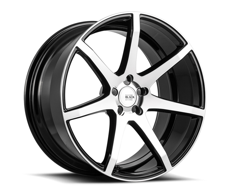 Savini BM10-20100510M5065 di Forza  Machined Black with Black Lip BM10 Wheel 20x10.0 5x110 50mm