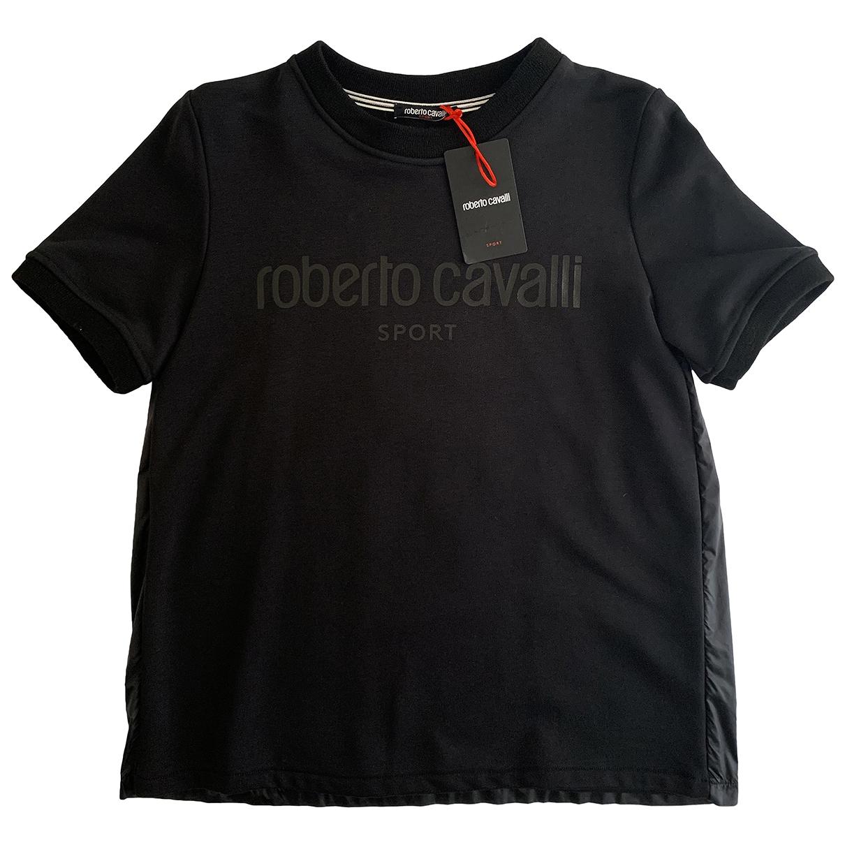 Roberto Cavalli \N Black Cotton  top for Women S International