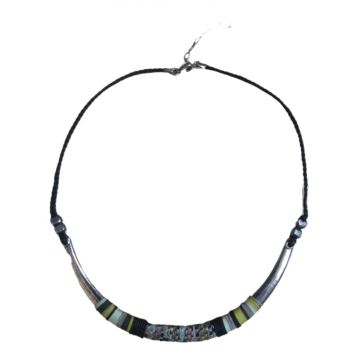 Gas Massai Green Silver necklace for Women \N