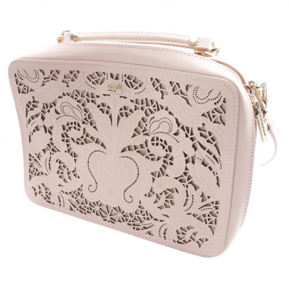 Class Cavalli \N Beige Leather handbag for Women \N