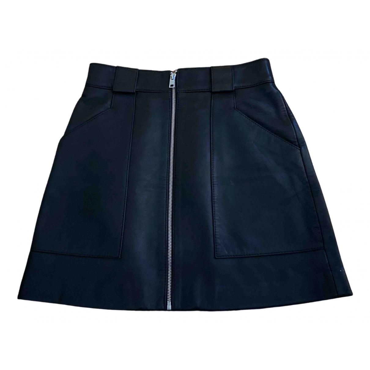 Mini falda Fall Winter 2019 de Cuero Maje