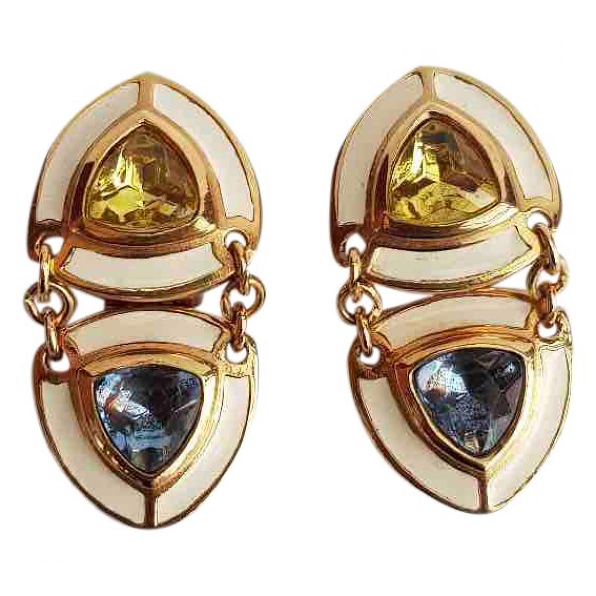 Dior - Boucles doreilles   pour femme en metal - multicolore