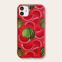 1pc Watermelon Pattern iPhone Case