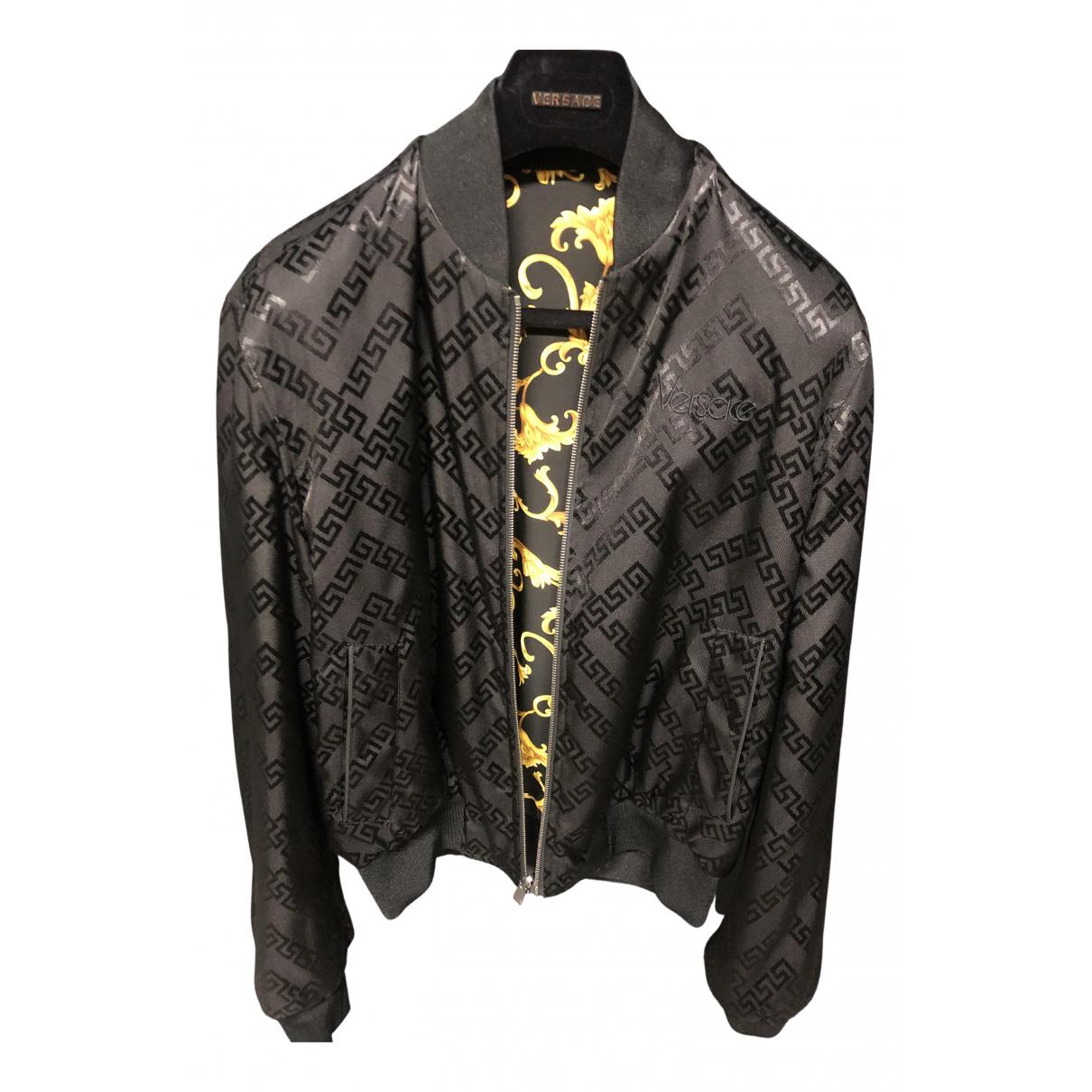 Versace - Vestes.Blousons   pour homme - noir