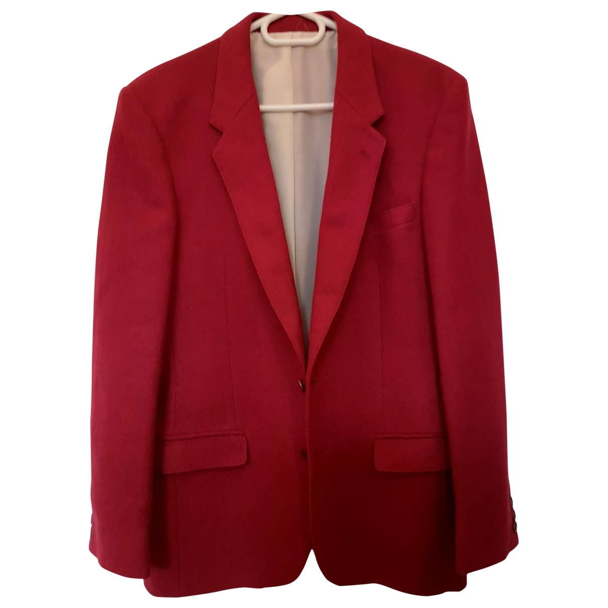 Cacharel \N Red Wool jacket  for Men 48 FR
