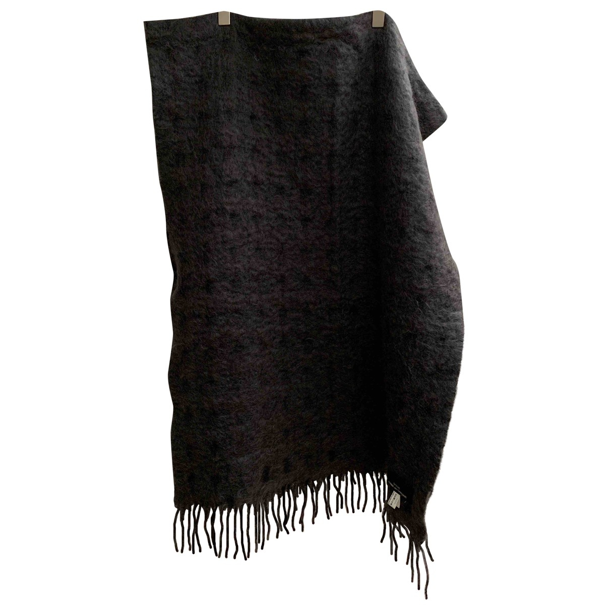Comme Des Garcons \N Grey Wool scarf for Women \N