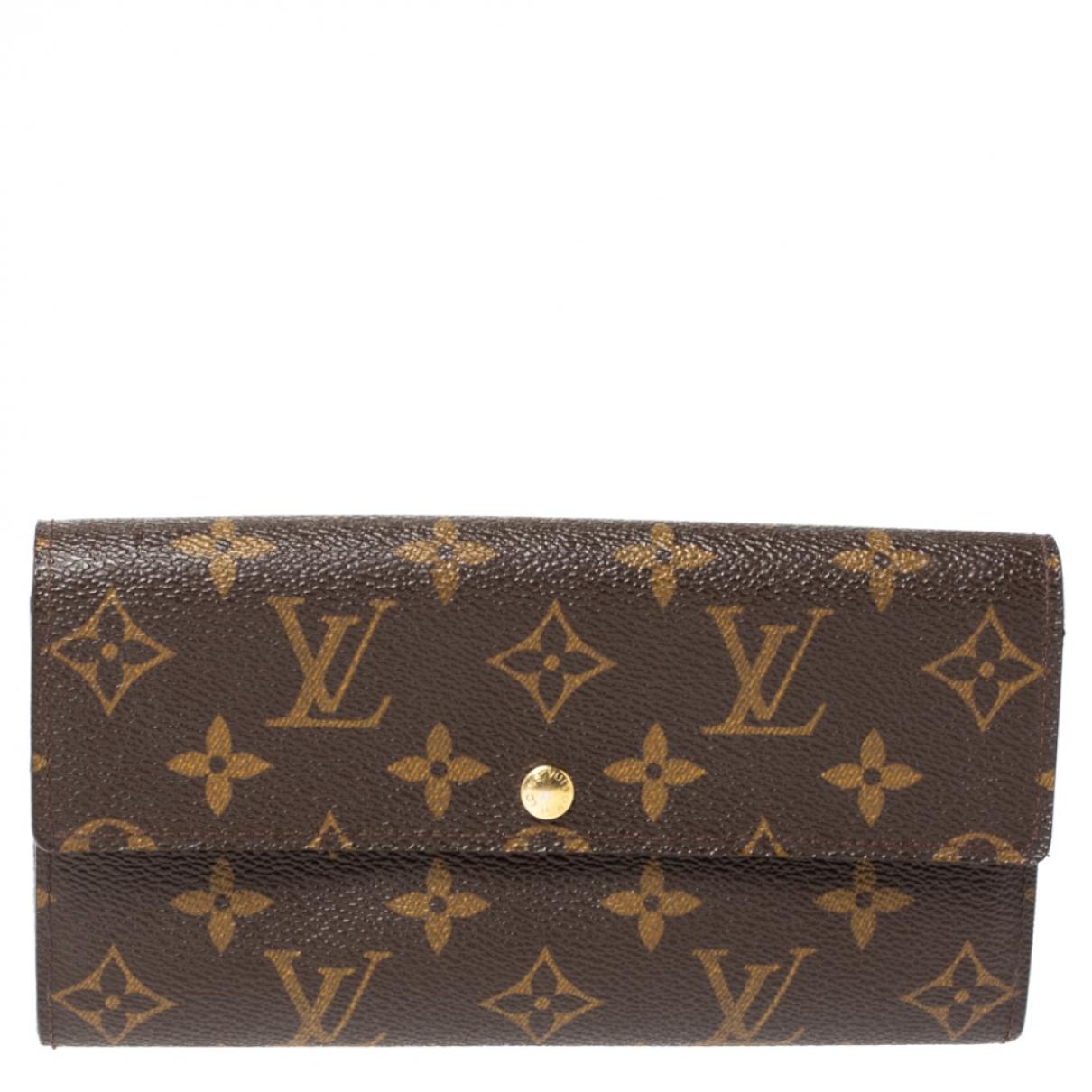 Cartera Sarah de Cuero Louis Vuitton