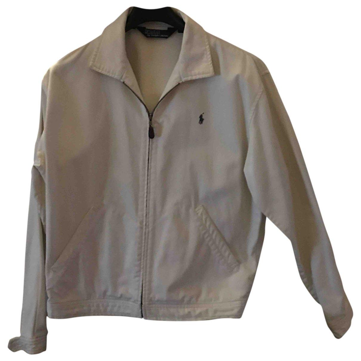 Polo Ralph Lauren - Vestes.Blousons   pour homme en coton - blanc