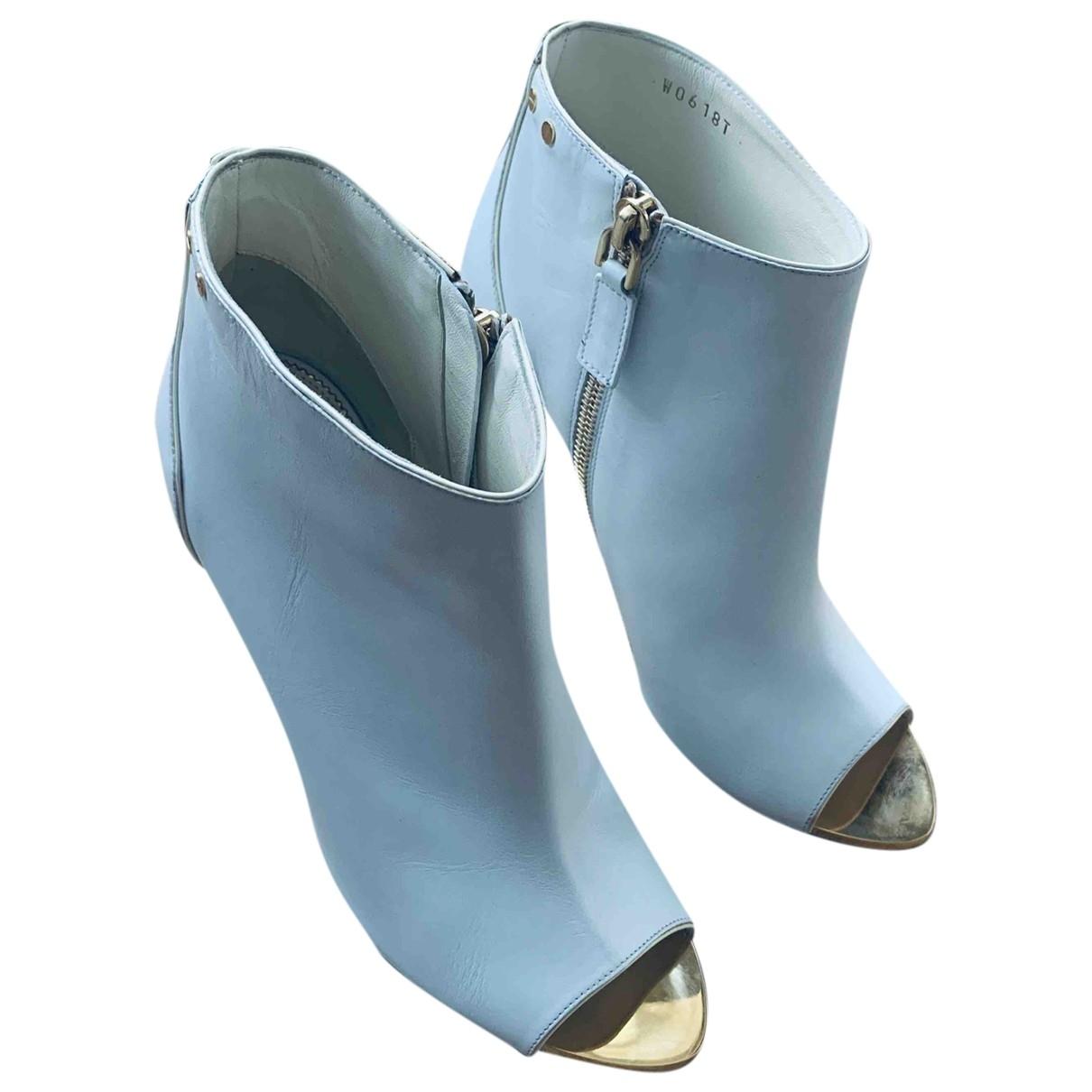 Tom Ford - Boots   pour femme en cuir - blanc