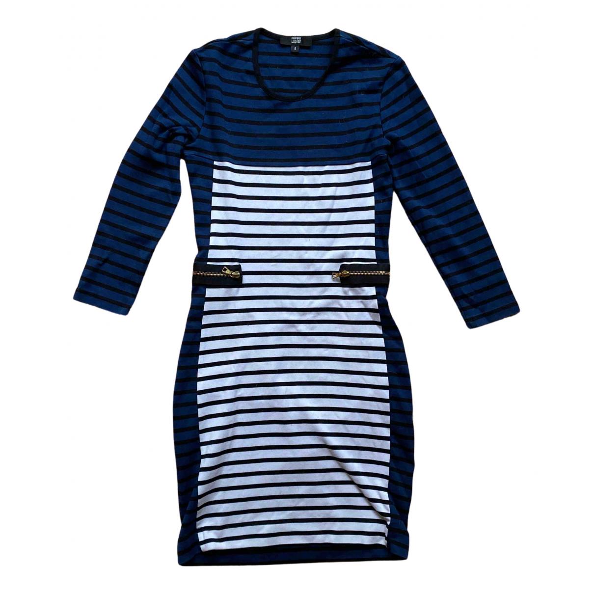 Markus Lupfer N Blue Cotton - elasthane dress for Women 36 FR