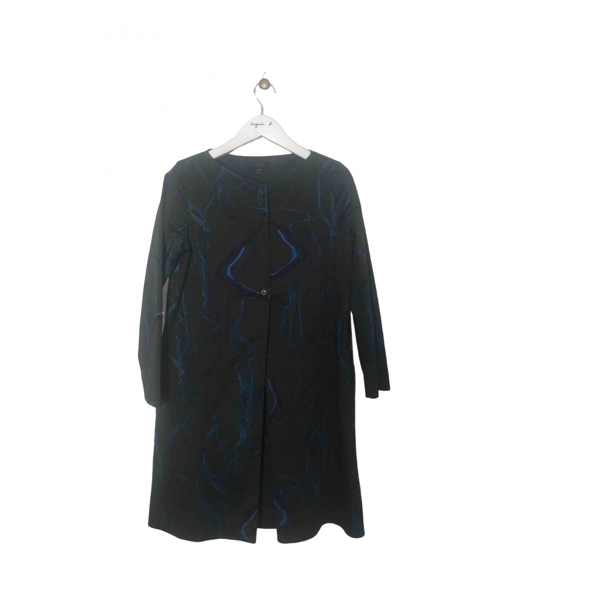 Cos \N Kleid in  Khaki Baumwolle - Elasthan