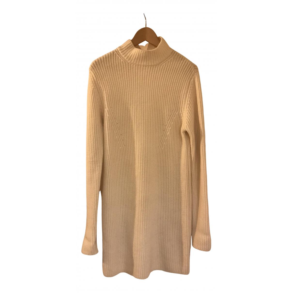 Carven \N Kleid in  Ecru Wolle