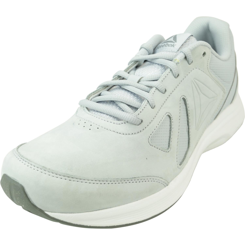 Reebok Women's Walk Ultra 6 Dmx Max Rg Cloud Grey / Alloy White Low Top Leather Walking - 12M