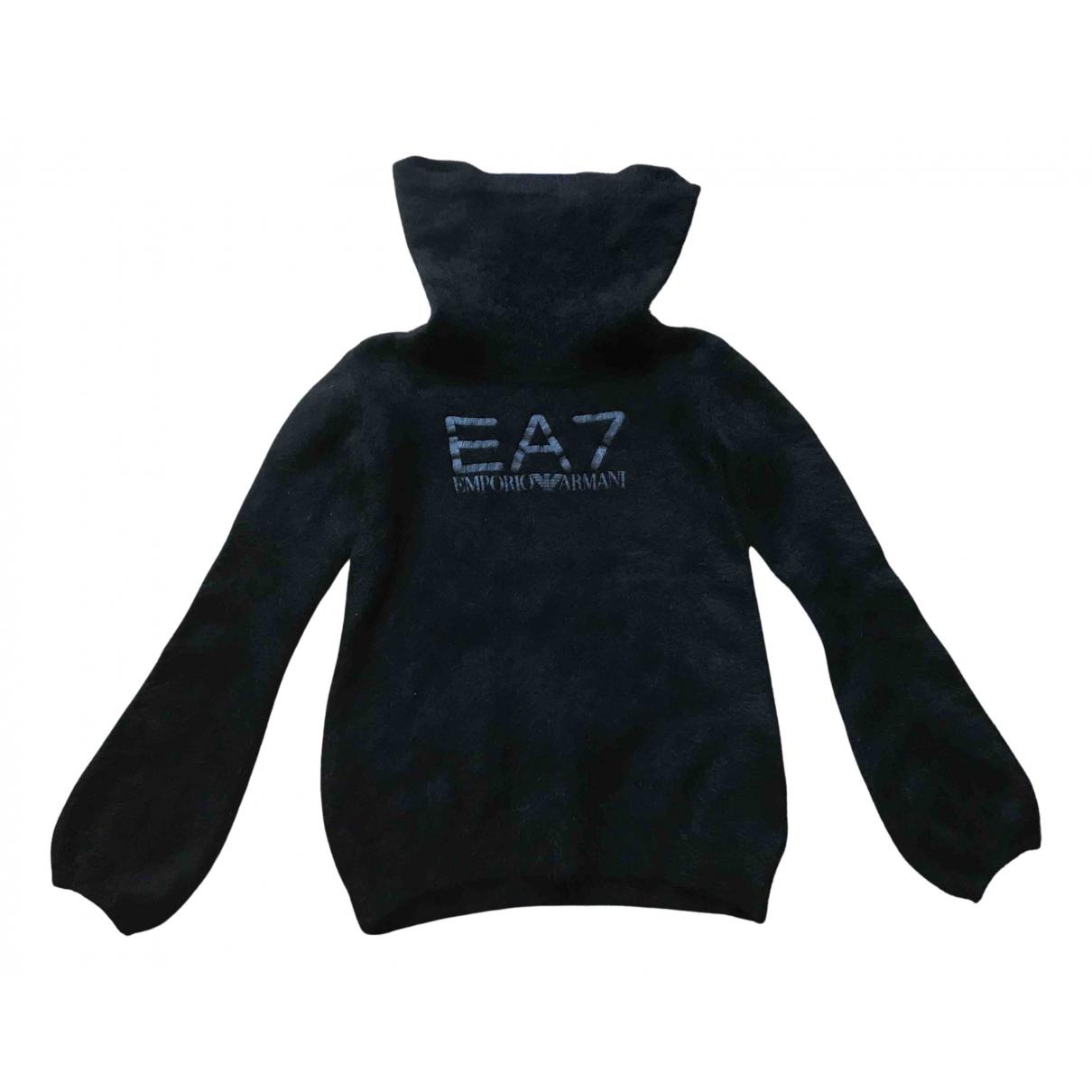 Emporio Armani \N Pullover in  Schwarz Wolle