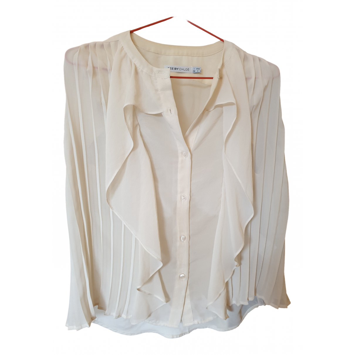 See By Chloe - Top   pour femme - blanc