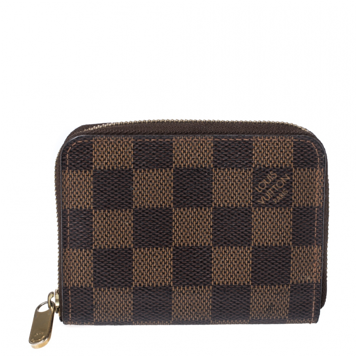 Louis Vuitton Zippy Brown Leather wallet for Women N