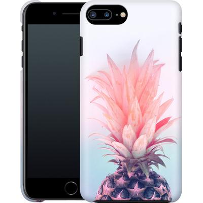 Apple iPhone 8 Plus Smartphone Huelle - Pastel Pineapple von Emanuela Carratoni