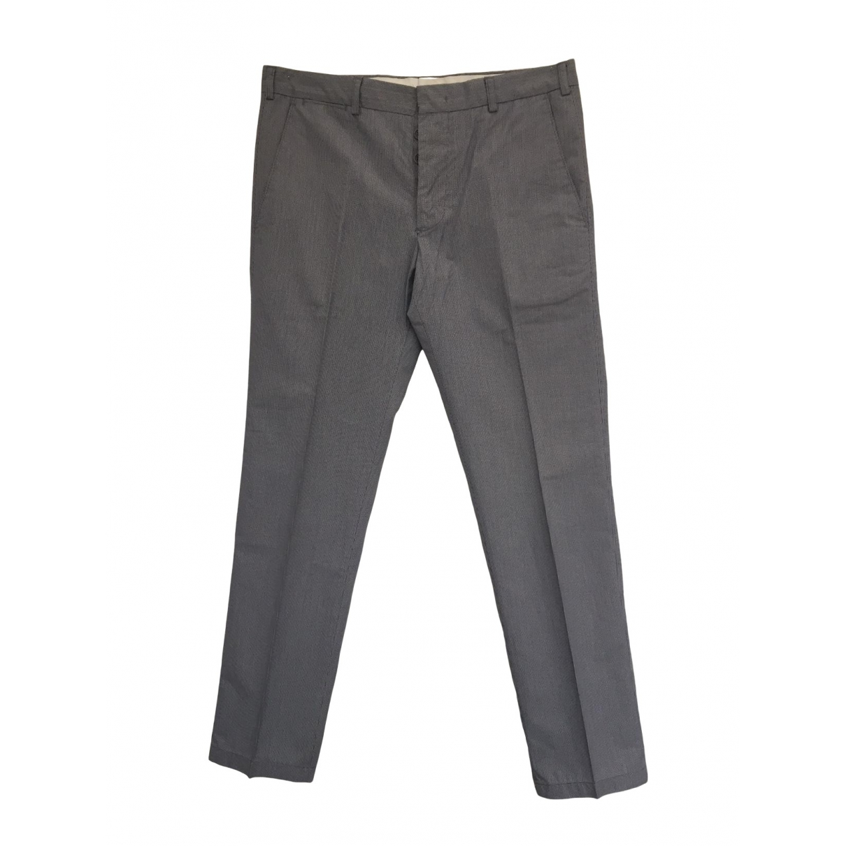 Cp Company \N Grey Cotton Trousers for Men 46 IT
