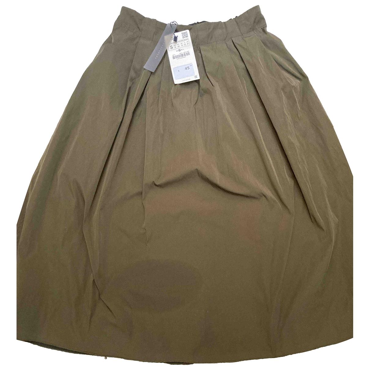 Zara \N Khaki skirt for Women S International