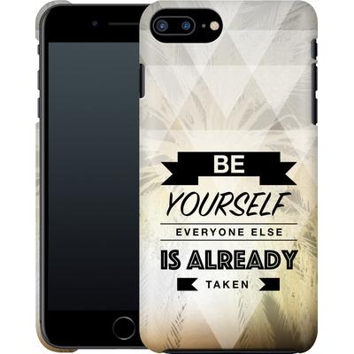 Apple iPhone 8 Plus Smartphone Huelle - Be Yourself von Statements