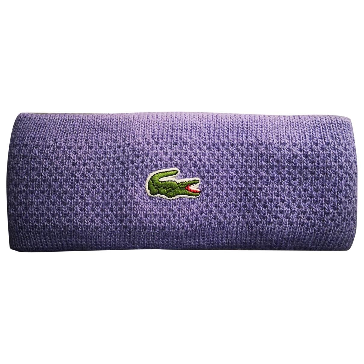 Lacoste \N Purple Wool hat for Women M International