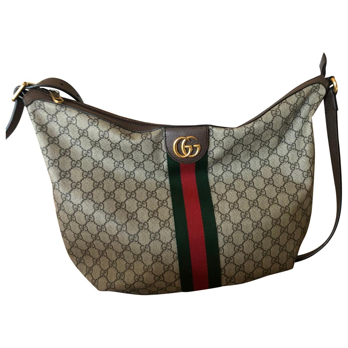 Gucci Ophidia Beige Cloth handbag for Women N
