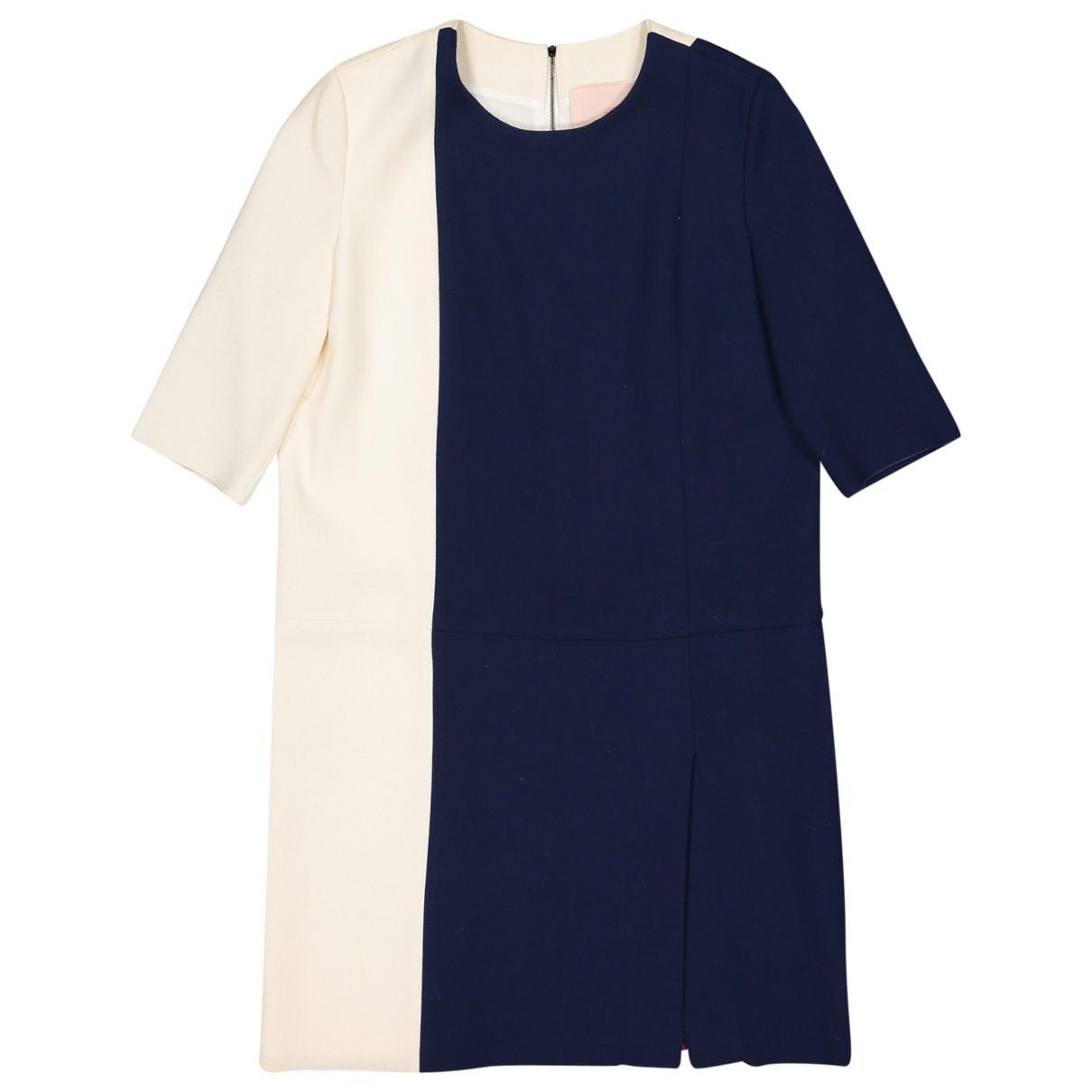 Roksanda \N Navy Wool dress for Women 10 UK
