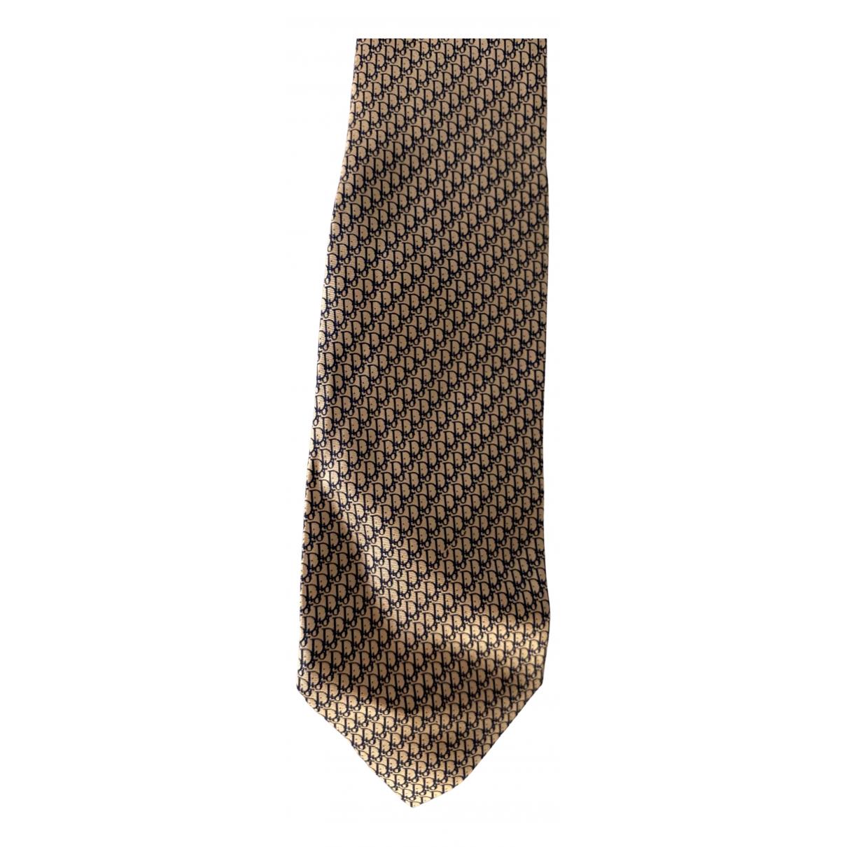 Dior Homme \N Krawatten in  Beige Seide