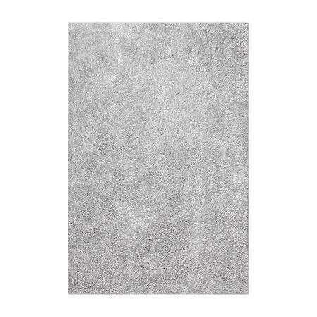 nuLoom Hand Tufted Dusk Rug, One Size , Silver