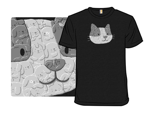 Trojan Cat T Shirt
