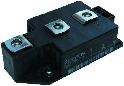 IXYS 1600V 310A, Dual Diode, 3-Pin Y1 CU MDD312-16N1