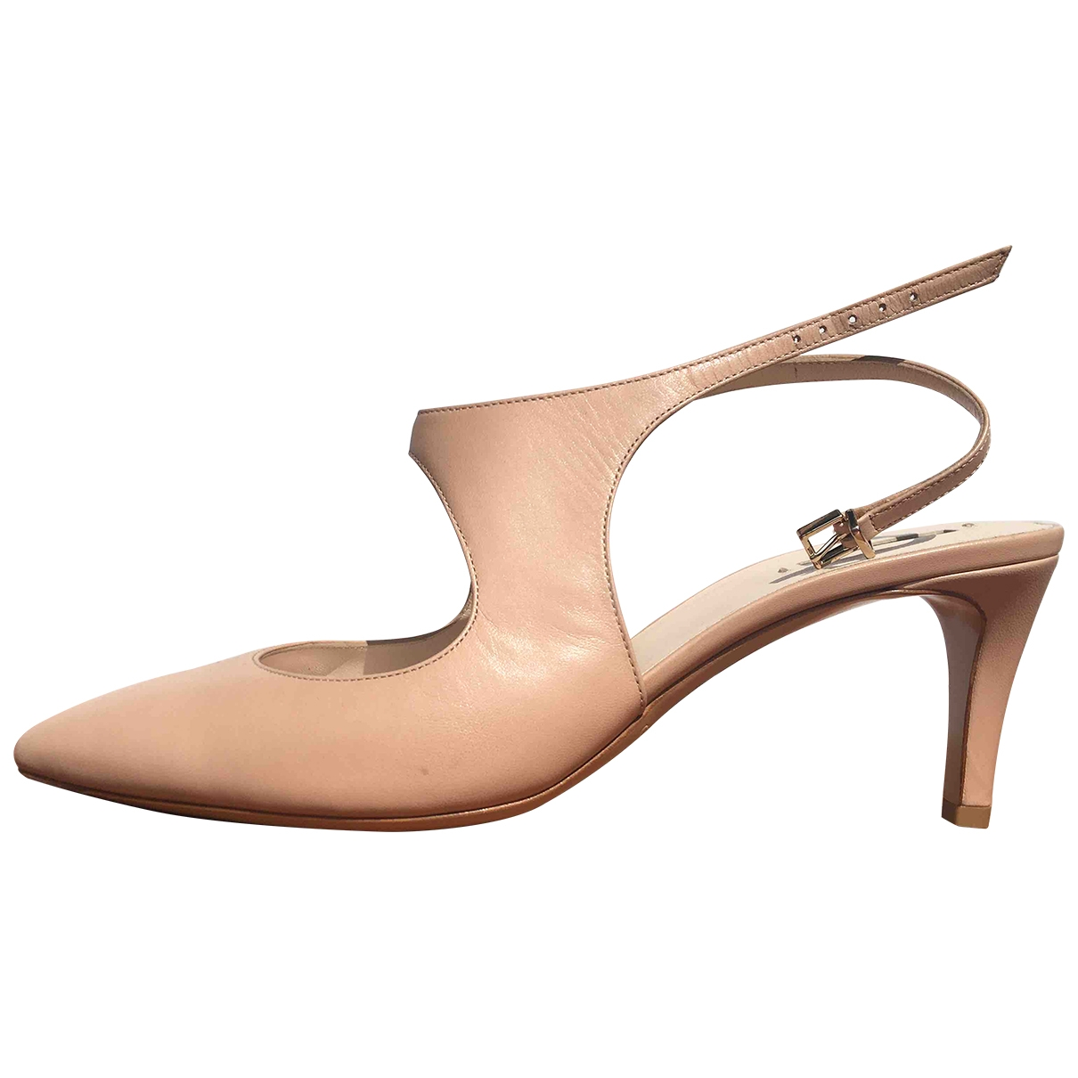 Giorgio Armani - Escarpins   pour femme en cuir - rose