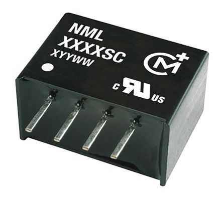 Murata Power Solutions NML 2W Isolated DC-DC Converter Through Hole, Voltage in 4.5 ? 5.5 V dc, Voltage out 15V