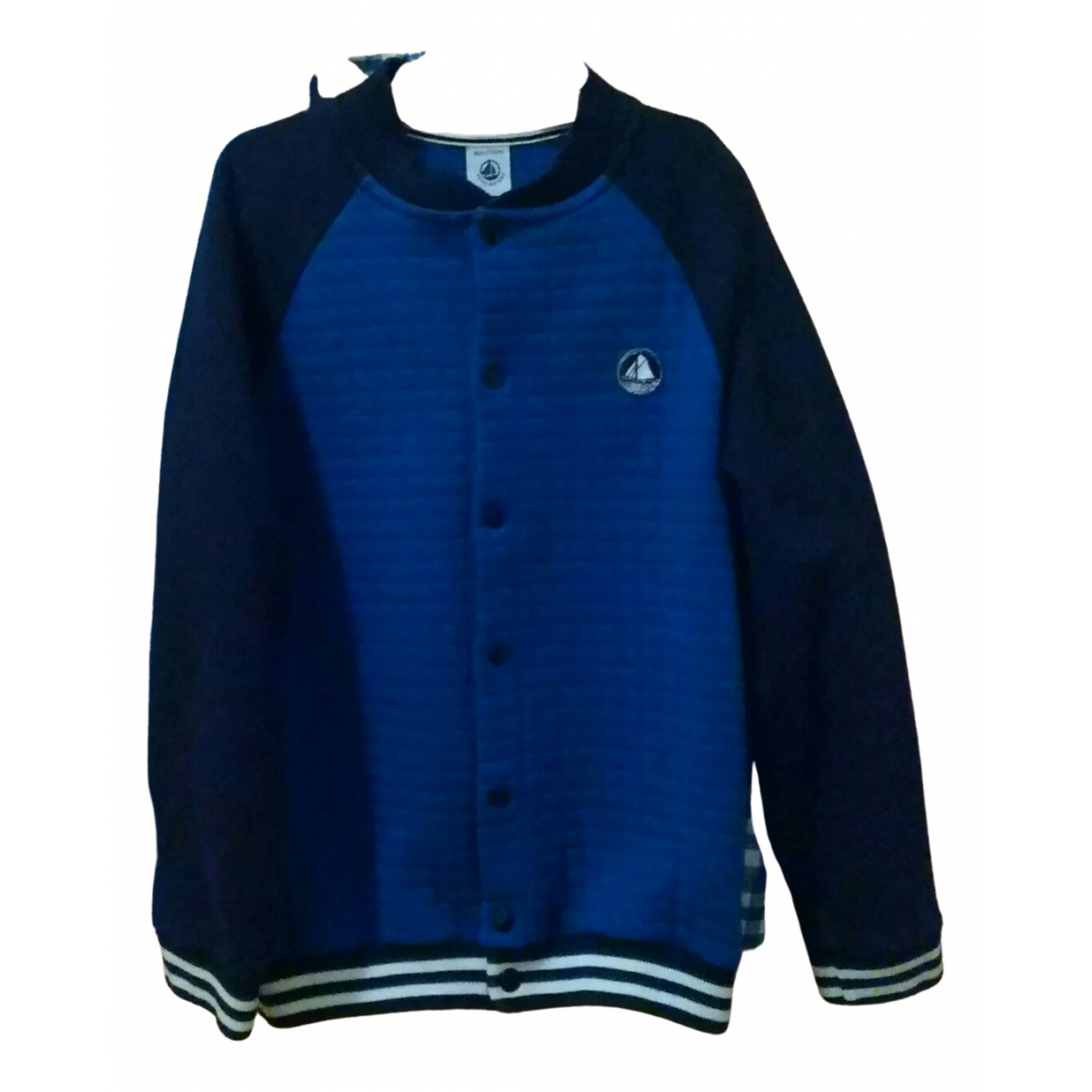 Petit Bateau \N Blue Cotton Knitwear for Kids 8 years - up to 128cm FR